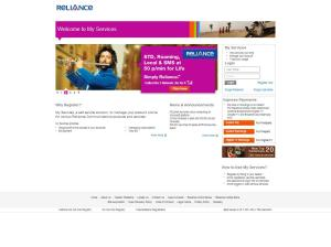 Reliance Netconnect+ Login