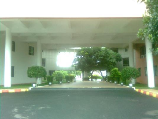 Way to Registrar Examination Building on the 3rd floor. Front of SBM