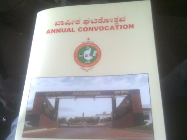 VTU Documents, Convocation Certified