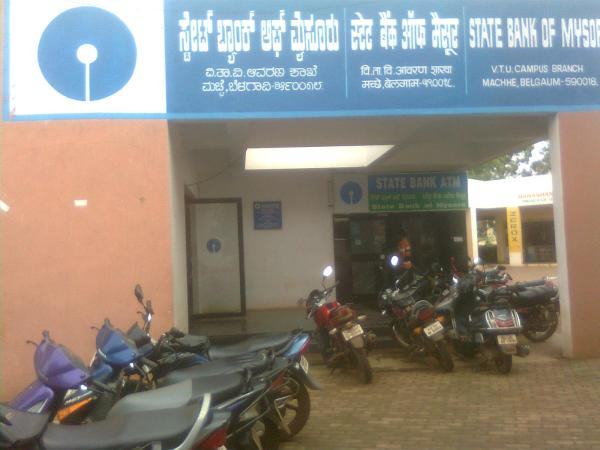 State Bank of Mysore Opposite to VTU Registrar Office