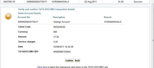 Docmo Online Recharge 6