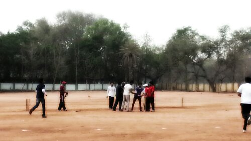 Playground where I took part cricket tournament